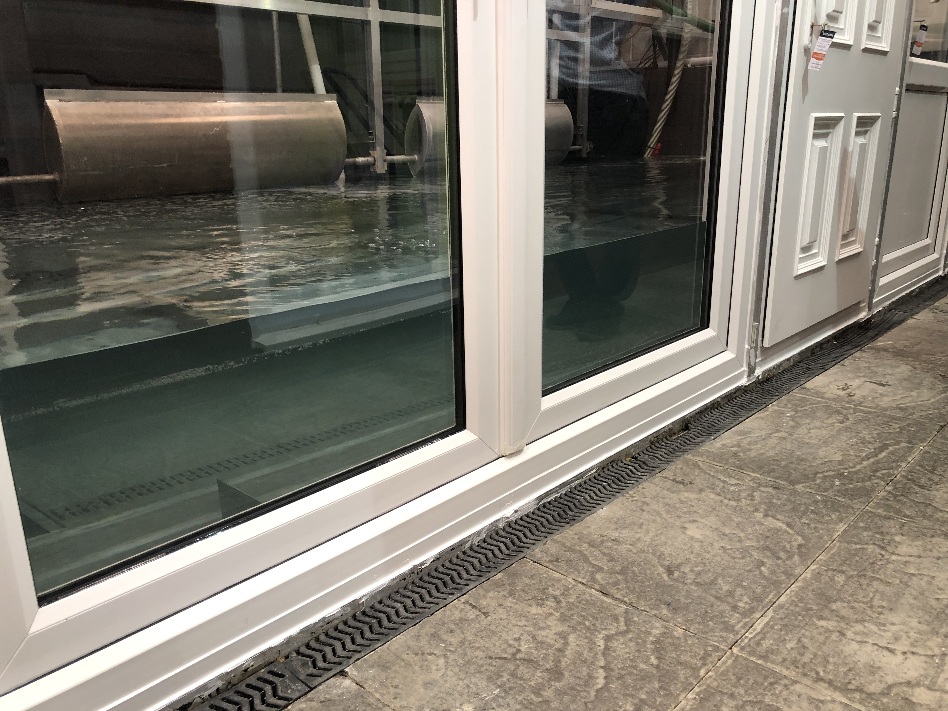Flood French Doors